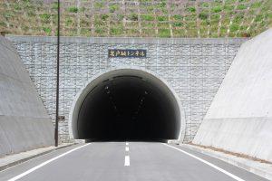 岩戸坂トンネル(前方)